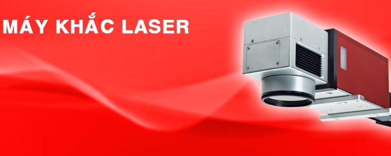 Máy khắc laser banner