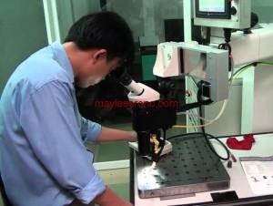 Máy hàn laser trong hàn sửa khuôn mẫu