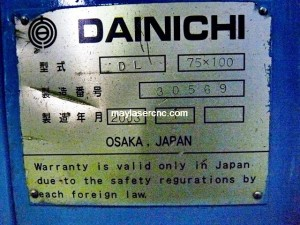 Máy tiện DAINICHI 09 | Máy phay CNC cũ