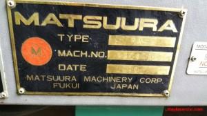 Matsuura 07|Máy công cụ